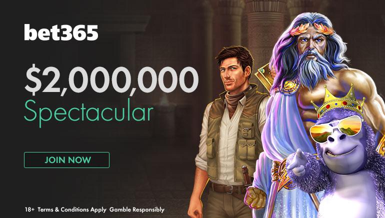 벳365의  5월 대박 이벤트 -  2백만불 스펙타큘러!